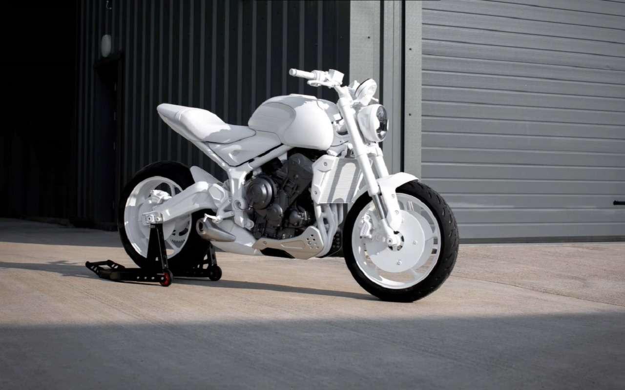 Мотоцикл Triumph Trident: первые фото концепта— фото 1163190