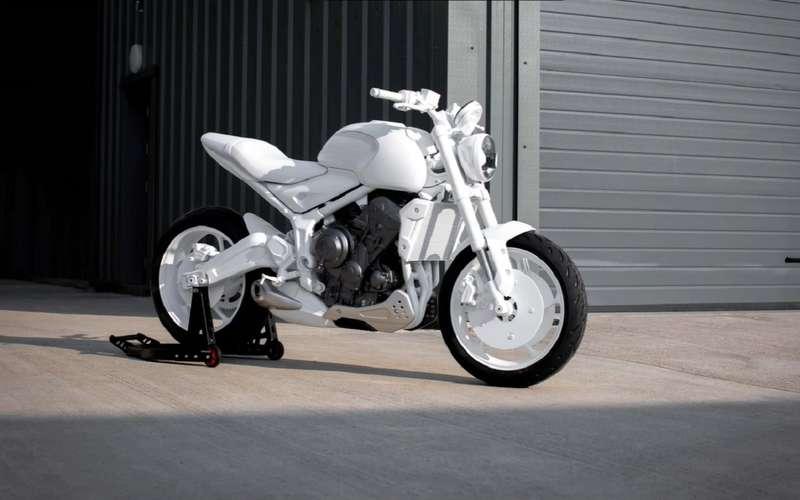 Мотоцикл Triumph Trident: первые фото концепта