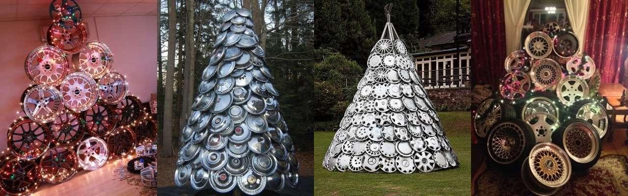 Необычные елки длянастоящих автолюбителей— фото 829200