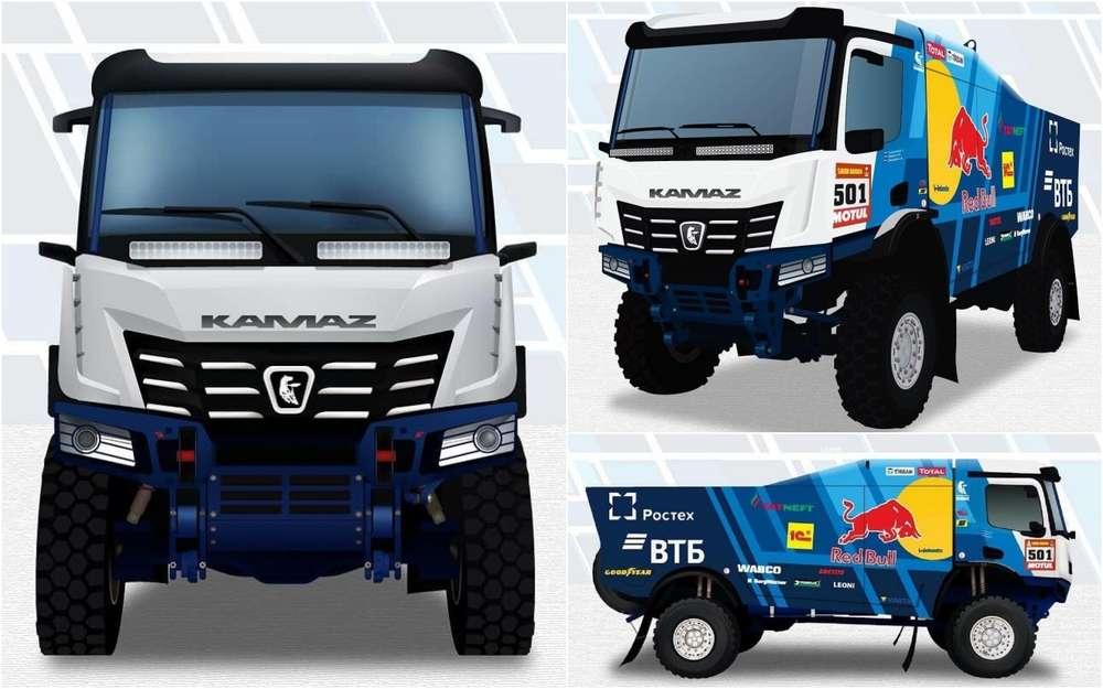 Новый грузовик «КАМАЗ-мастер»: первые изображения