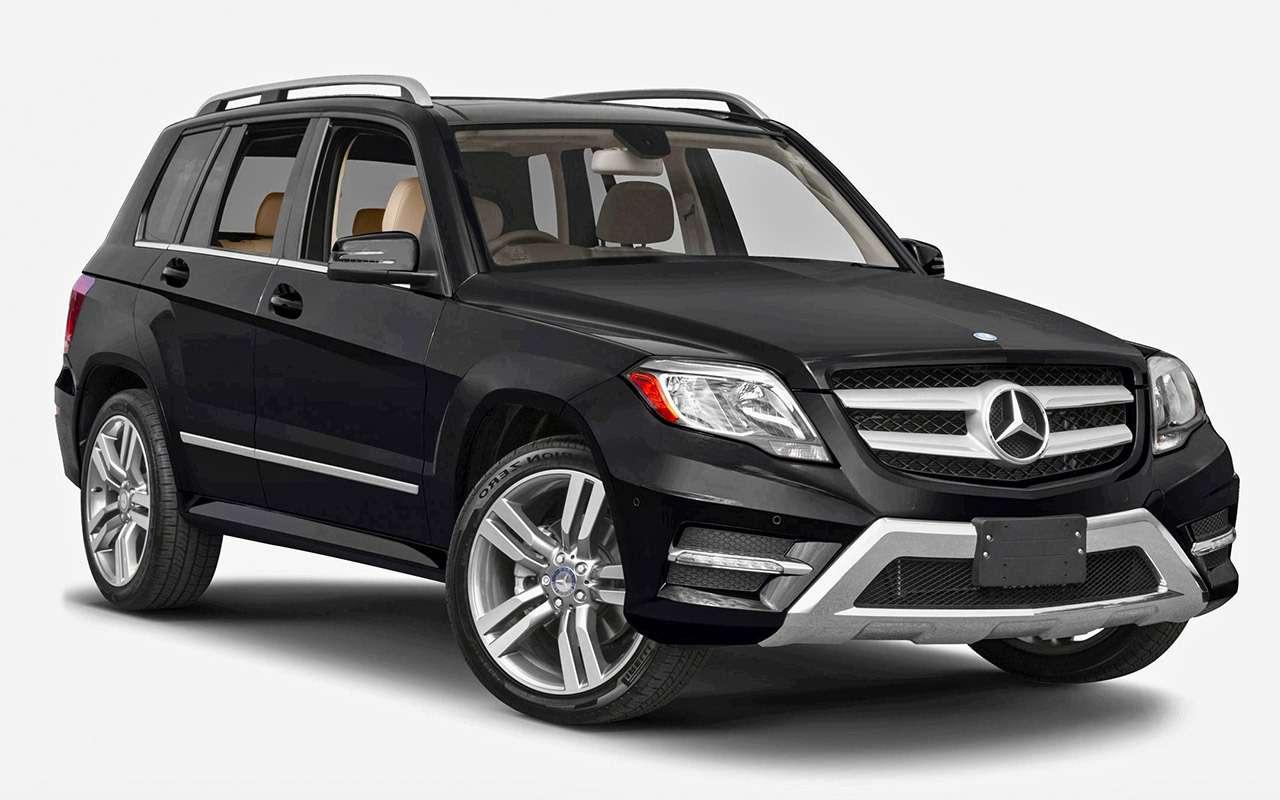 Подержанный Mercedes-Benz GLK— история болезни— фото 819158