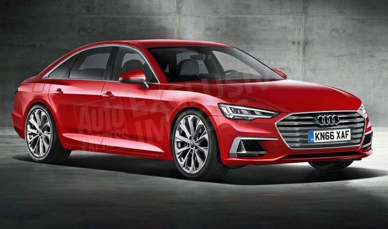 Седан Ауди  А6 обновленного поколения  представят в следующем году