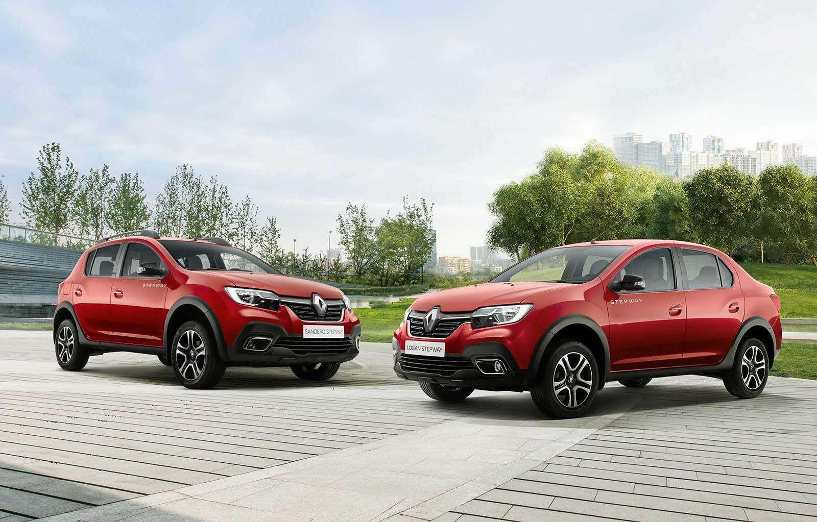 Renault объявила цены наLogan Stepway иSandero Stepway— фото 913024