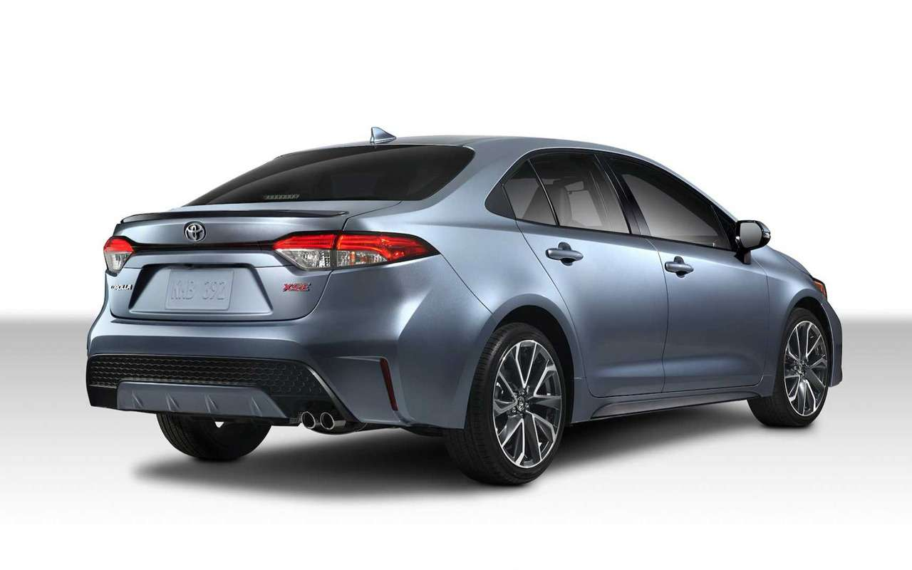 Toyota показала новую Короллу— фото 923264