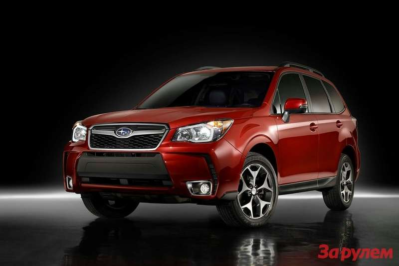 New Subaru Forester side-front view