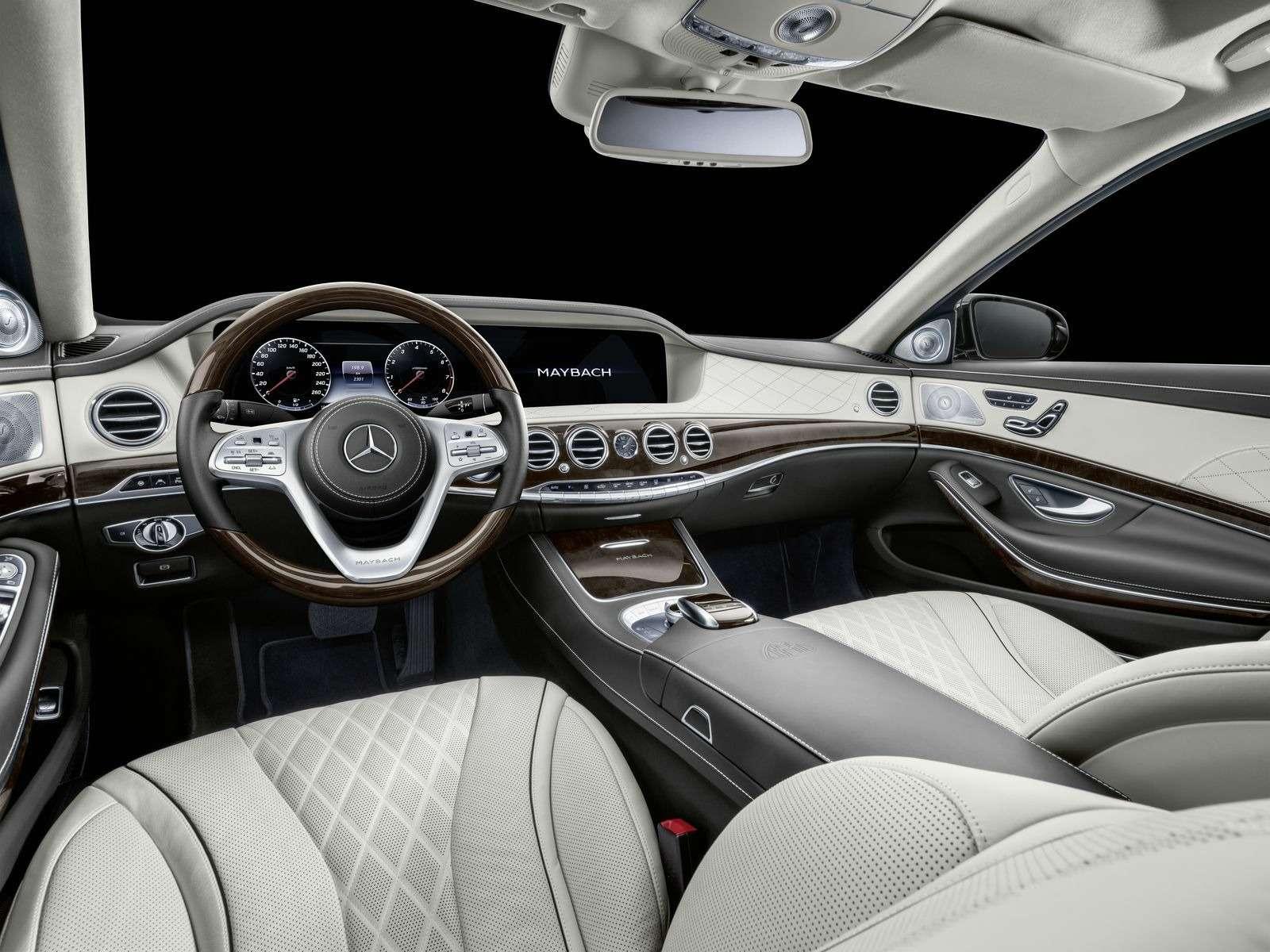 Лимузин Mercedes-Maybach Pullman пережил рестайлинг— фото 853886