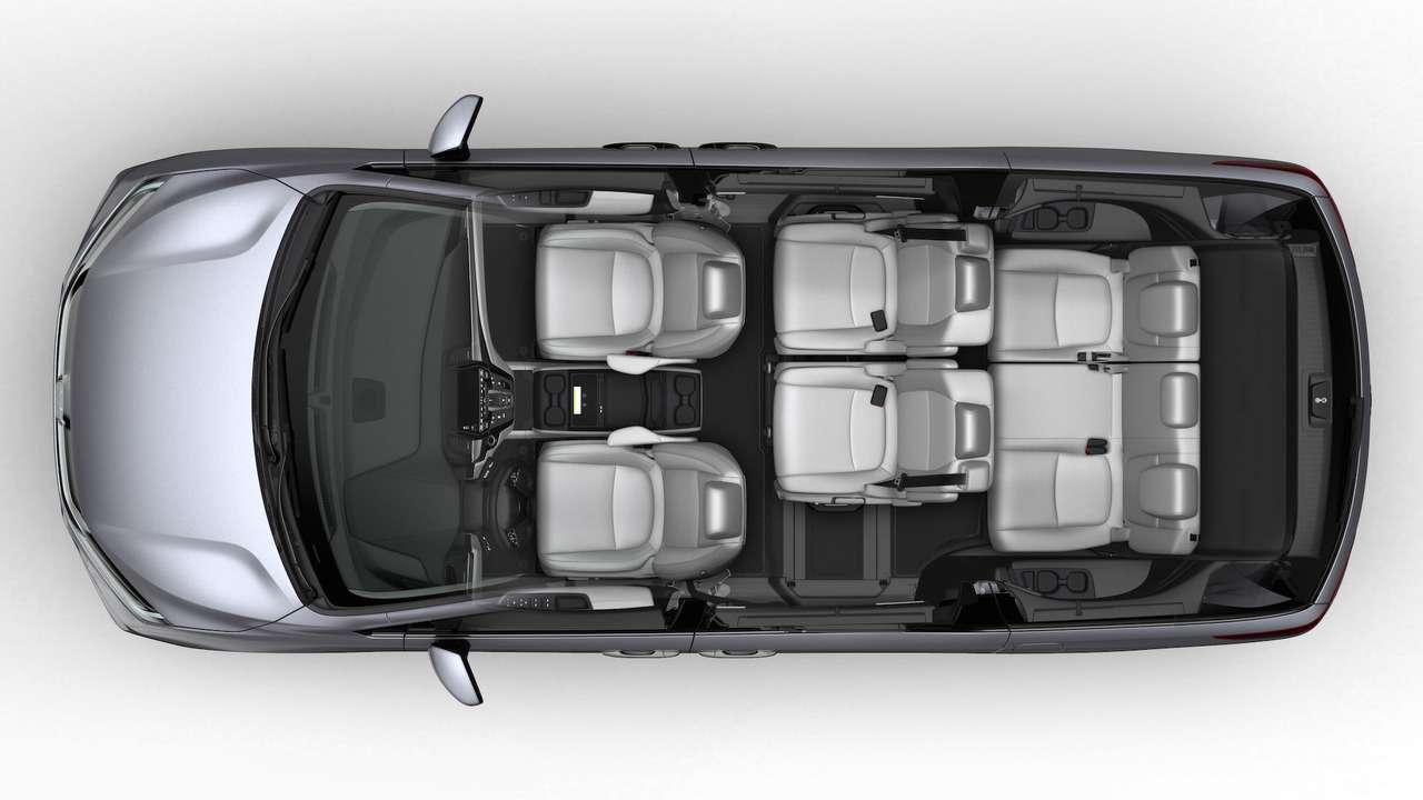 Домохозяйки аплодируют: Honda представила новый минивэн Odyssey— фото 690583
