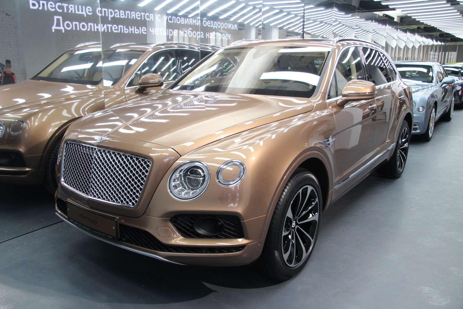 Bentley привезла вМоскву «экстраординарную» выставку— фото 593984