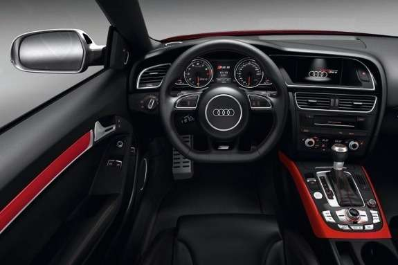Restyled Audi RS5 inside