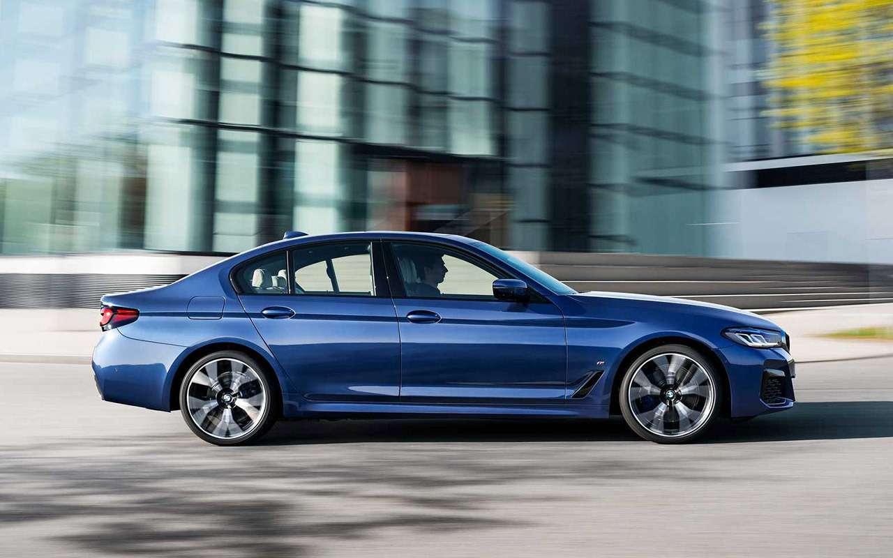 Обновленный BMW 5-й серии: известна стартовая цена— фото 1133660