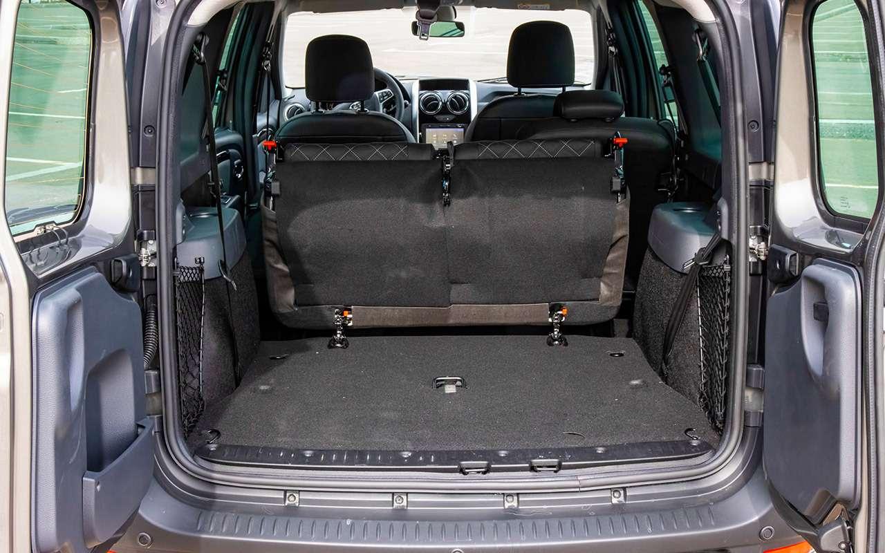 Что взять замиллион? Новый Largus против 10-летнего Volvo— фото 1256785