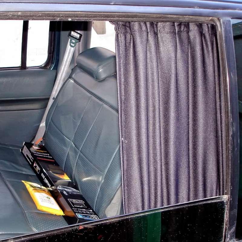 Можно ли ездить со шторками на боковых стеклах