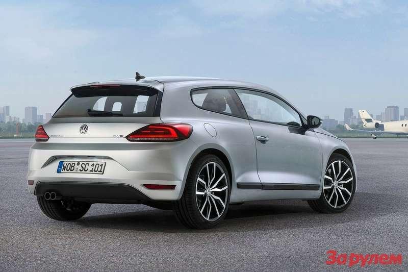 Обновленный Volkswagen Scirocco