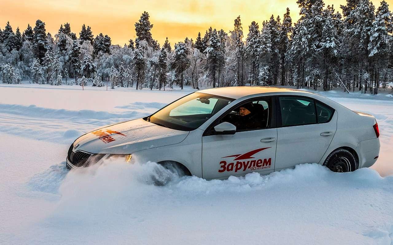 Большой тест зимних шин: выбор «Зарулем»!— фото 995081