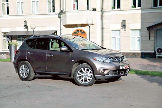 Nissan Murano 3.5 CVT XE, 1 658 000 руб.