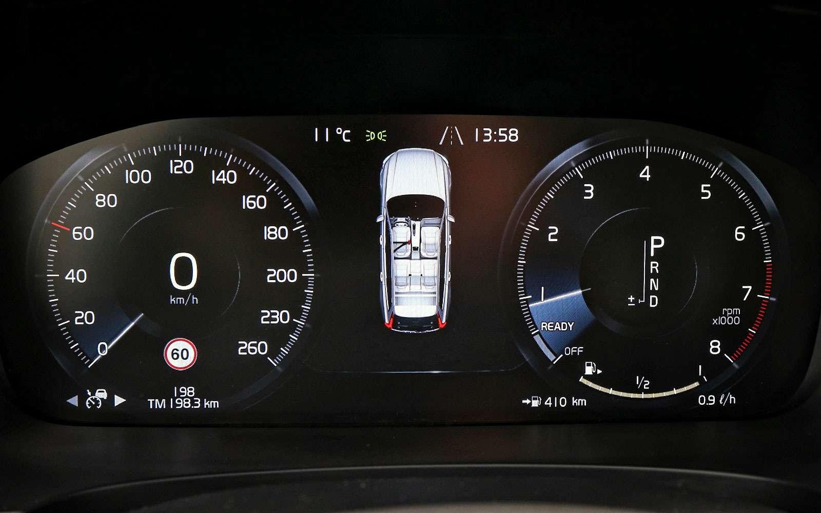 Тест-драйв Volvo V90 Cross Country— хорошо, нодорого— фото 764612
