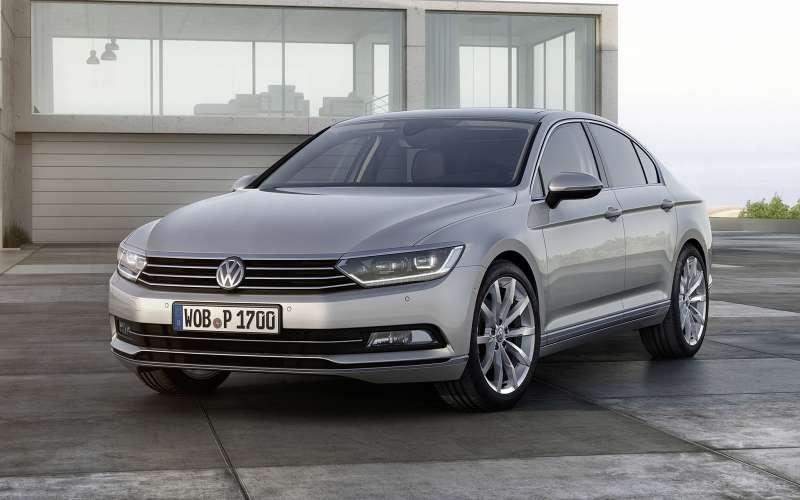 Volkswagen Passat. Цены: 1 489 000 — 2 029 000 рублей.