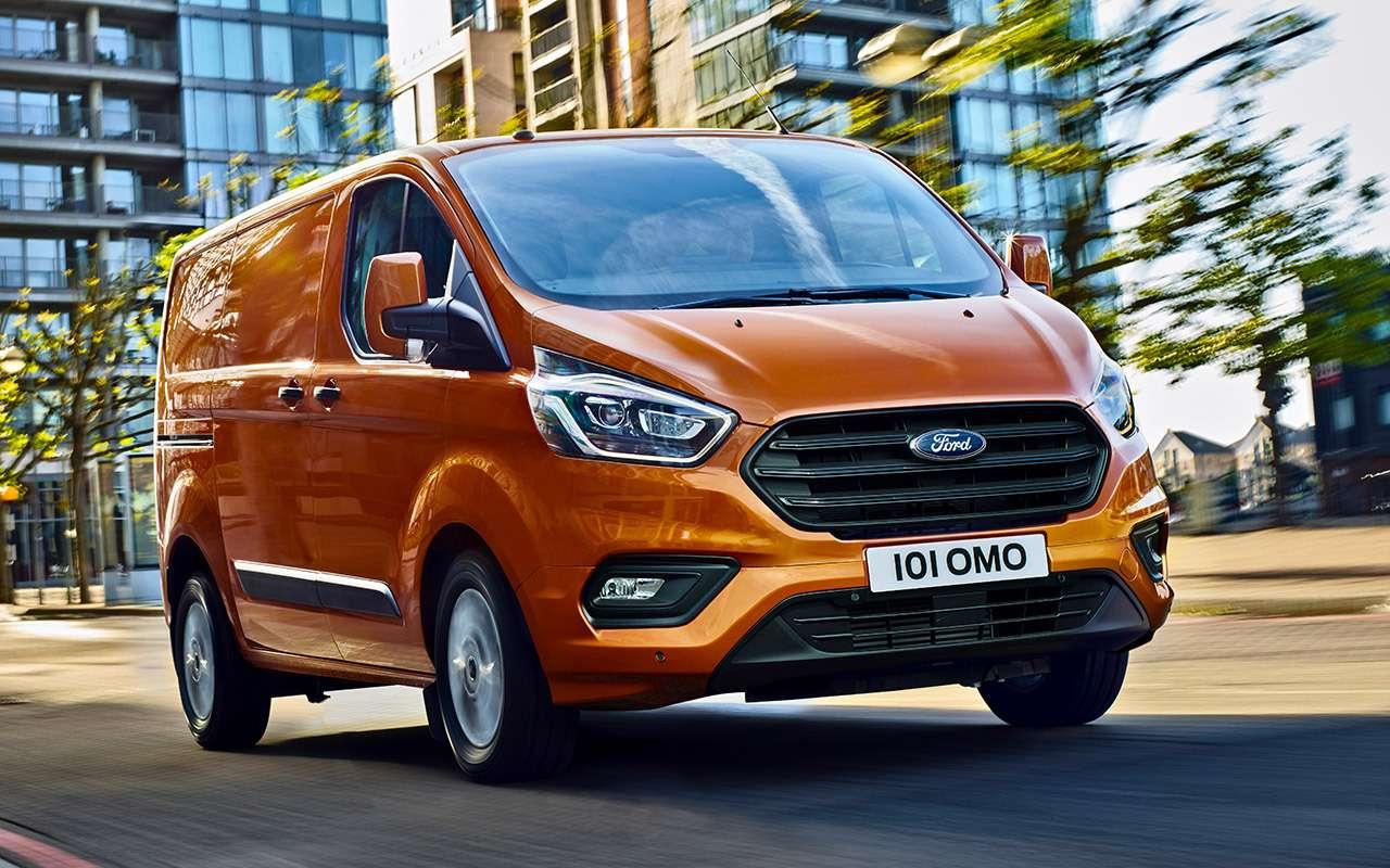 Обновленный Ford Transit Custom— тест-драйв ЗР— фото 841200