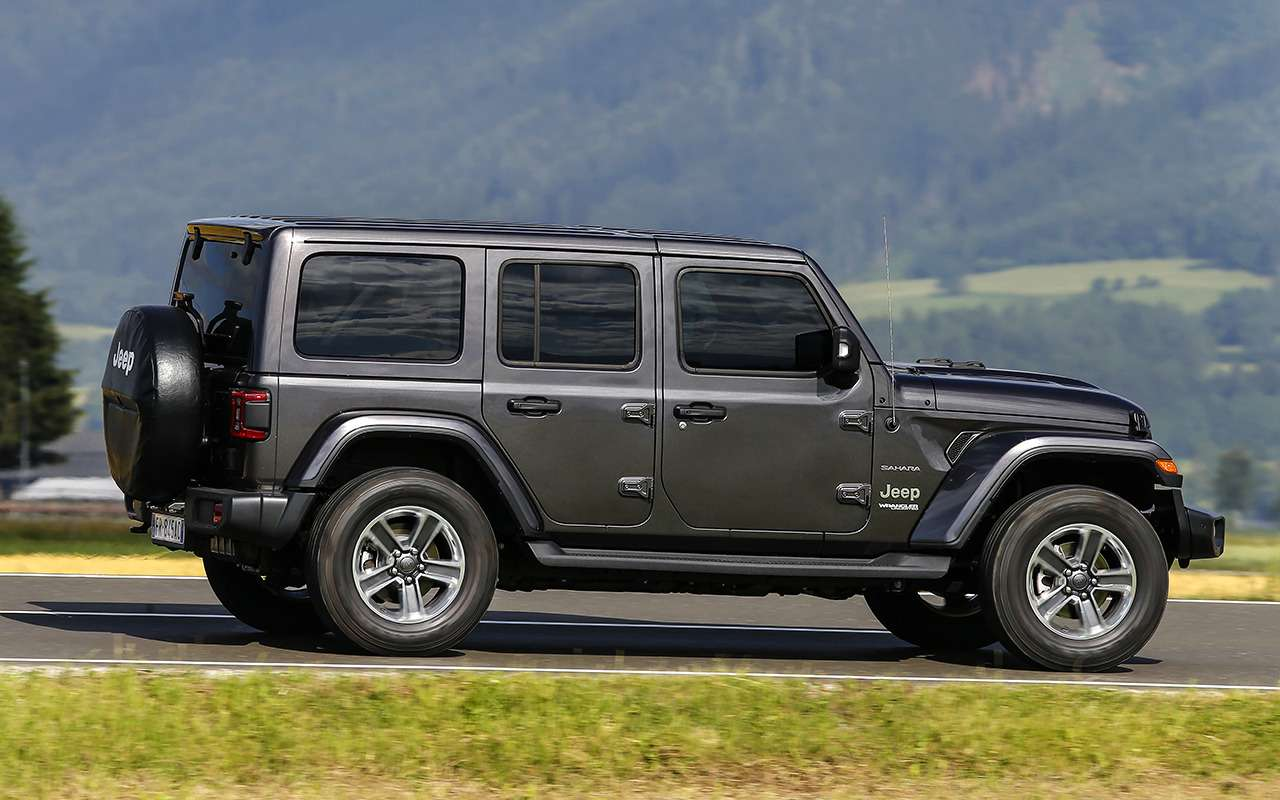 Новый Jeep Wrangler: конструктор длявзрослых— фото 886714