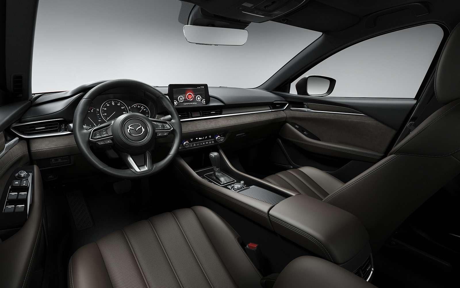 Обновленная Mazda 6— дорого ибогато— фото 821664