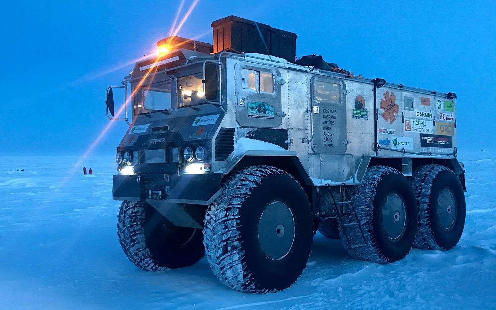 Вездеход «Бурлак»: лучшая машина дляснежных пустынь— фото 1001660