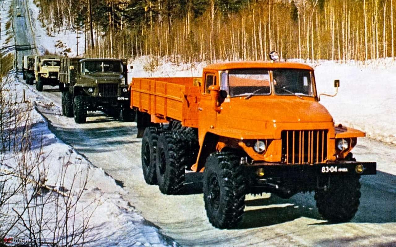Урал Next 6×4: «дорожники» наступают— фото 924205