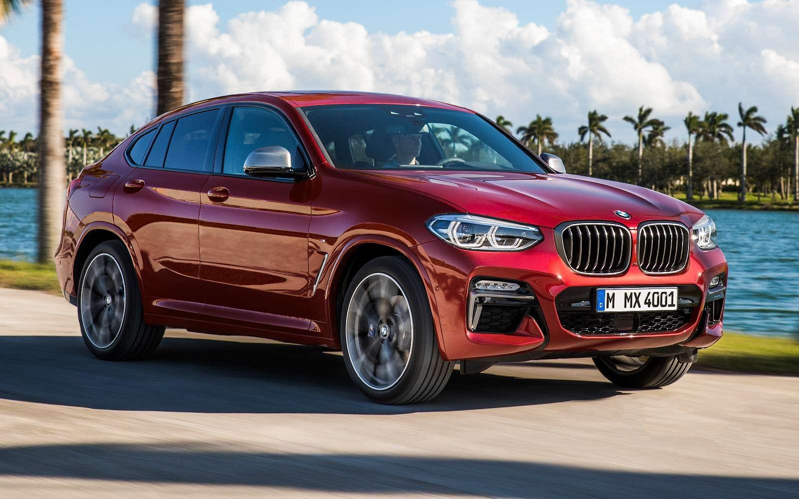 Новый BMW X4: искусство маскировки— фото 844910