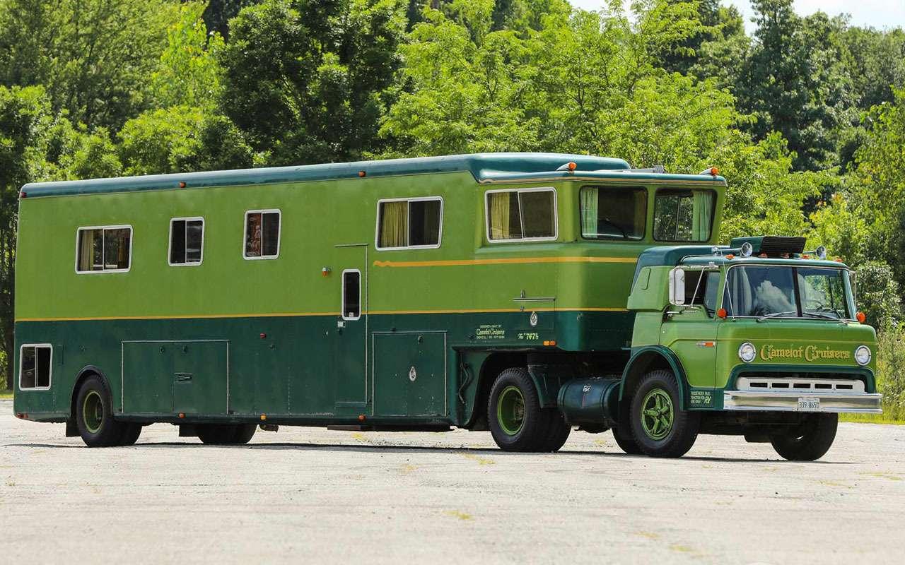 Жилая фура— редкий автодом Camelot— фото 1273046