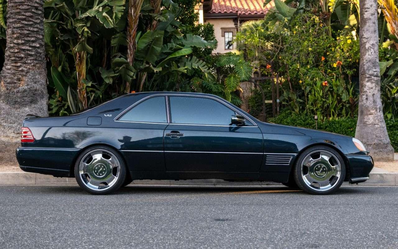Продается любимый Mercedes Майкла Джордана— фото 1158209