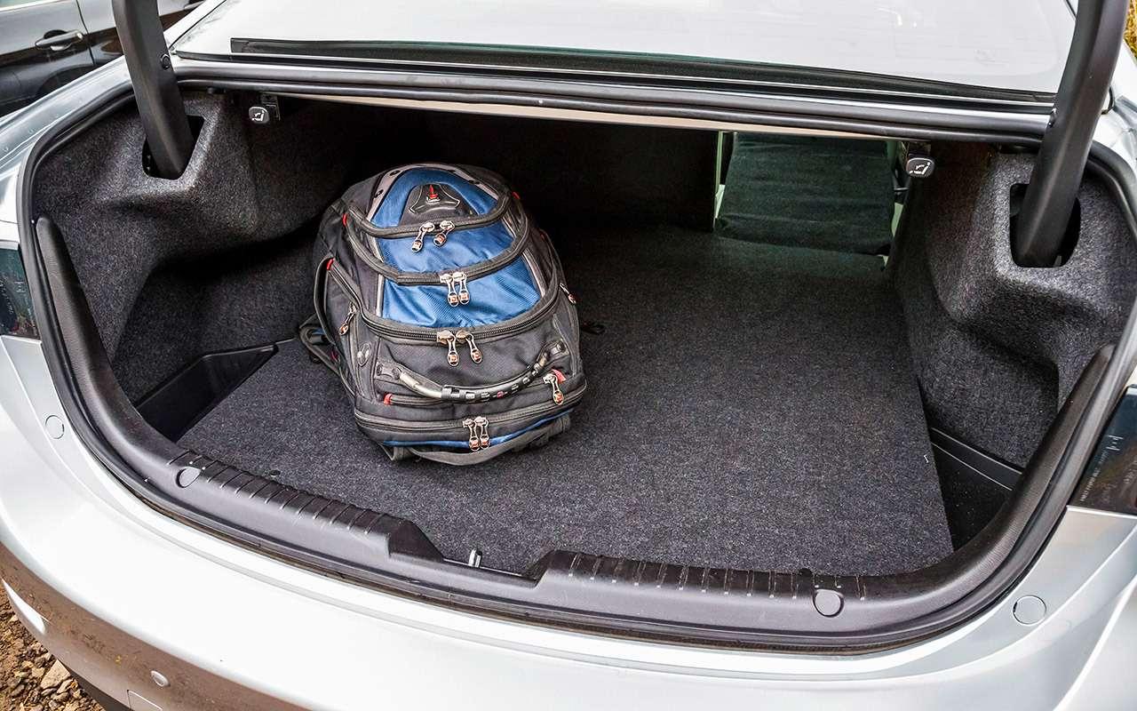 Hyundai Sonata против конкурентов— большой тест ЗР— фото 834910