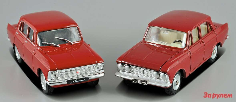 «Москвич-408»: Dinky Toys и«Автолегенды»
