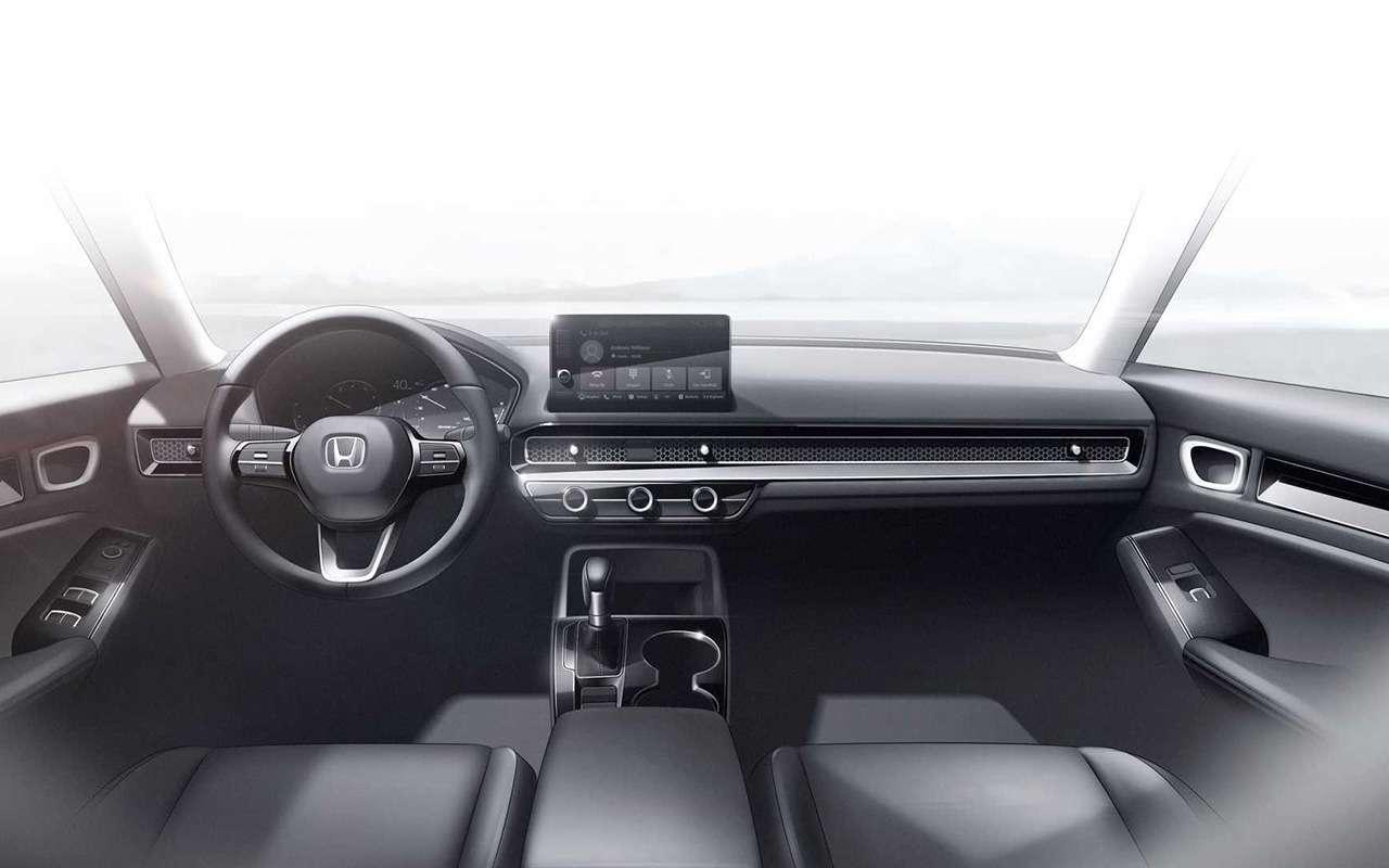 Новый Honda Civic: показали прототип— фото 1202559