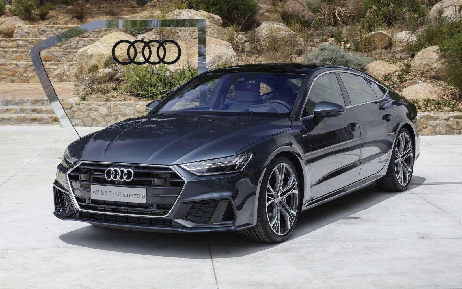 Новый Audi A7Sportback вРоссии: от4320000 рублей— фото 876027