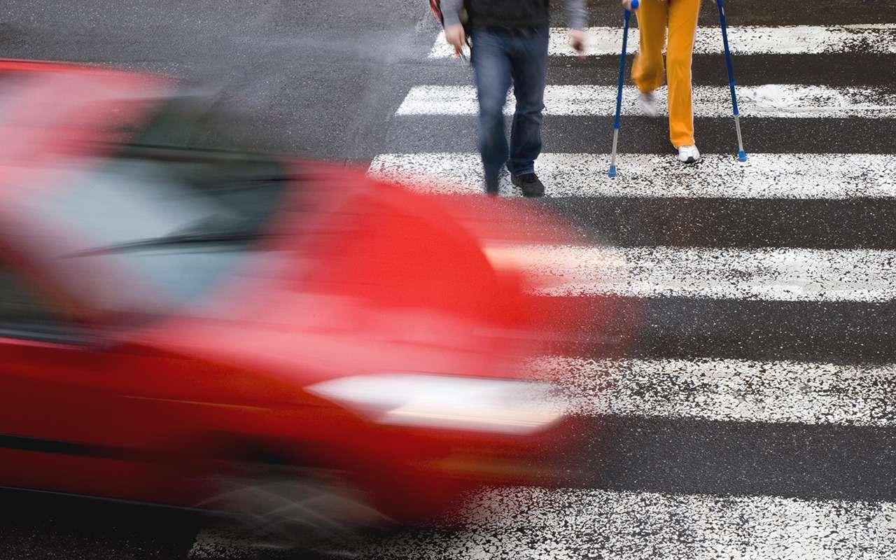 Никто нехотел уступать: что будет, если не пропустить пешехода— фото 1273634