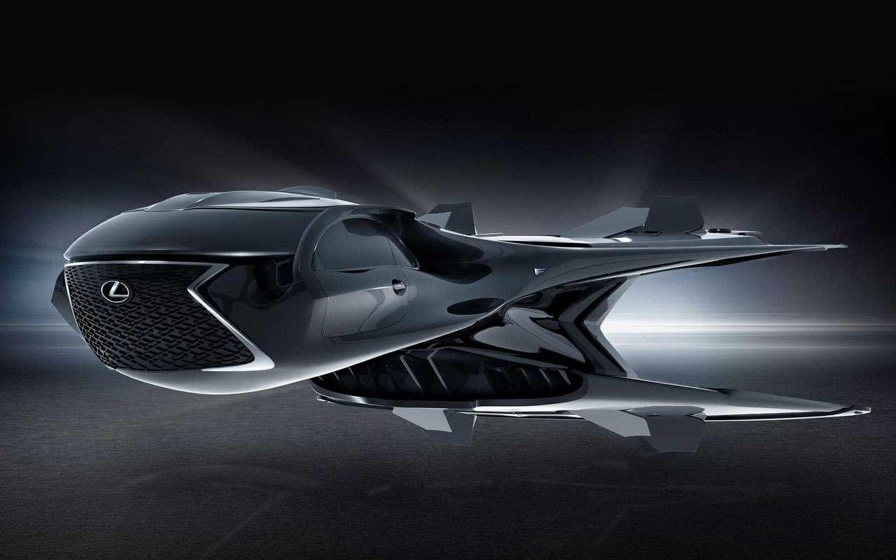 Lexus разработал космический корабль для«Людей вчерном»— фото 980135