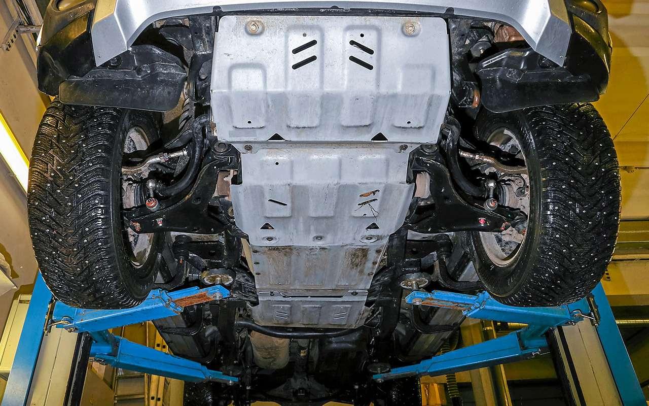 Toyota Fortuner, Mitsubishi Pajero Sport, Kia Mohave  — супертест — фото 855686