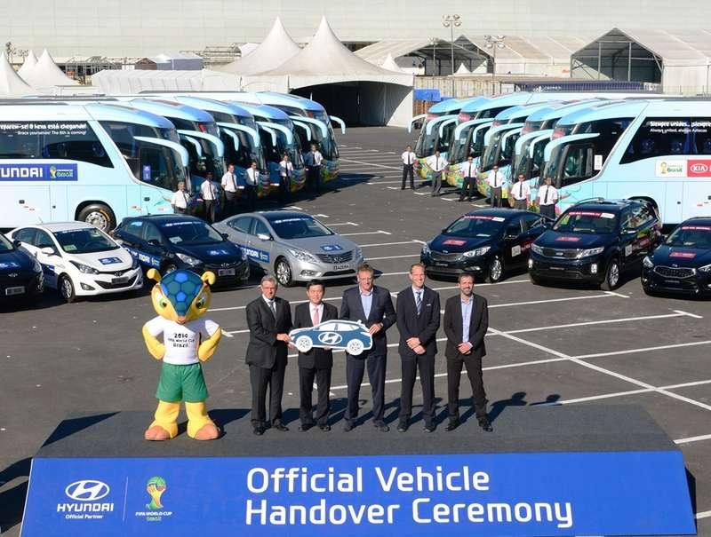 Hyundai-Kia— автомобильный спонсор ФИФА