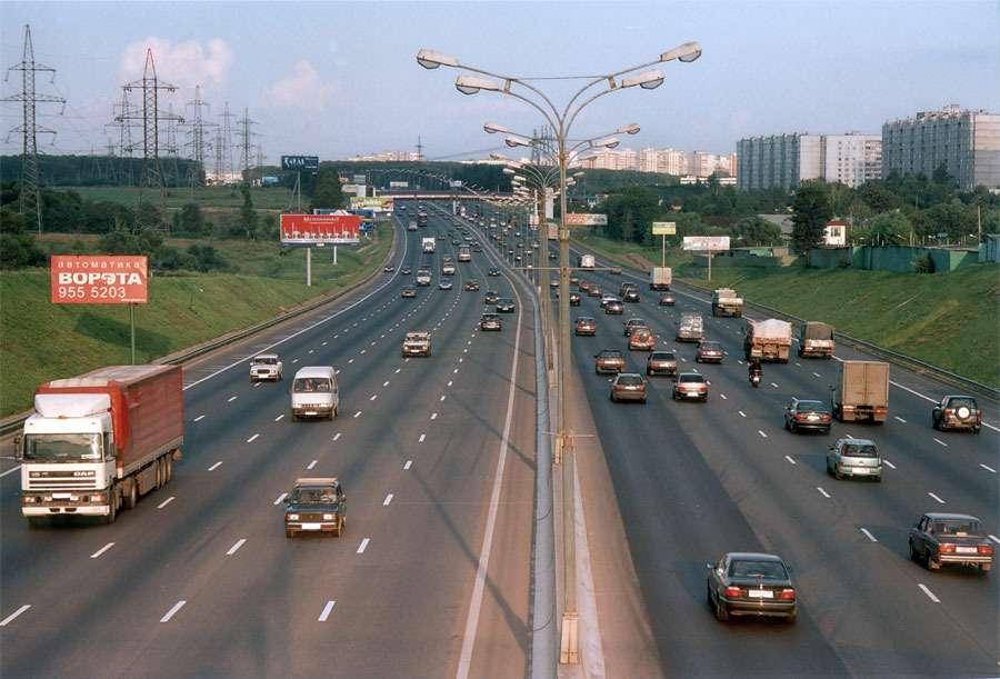 некоторое время самое короткое шоссе в москве ленточный