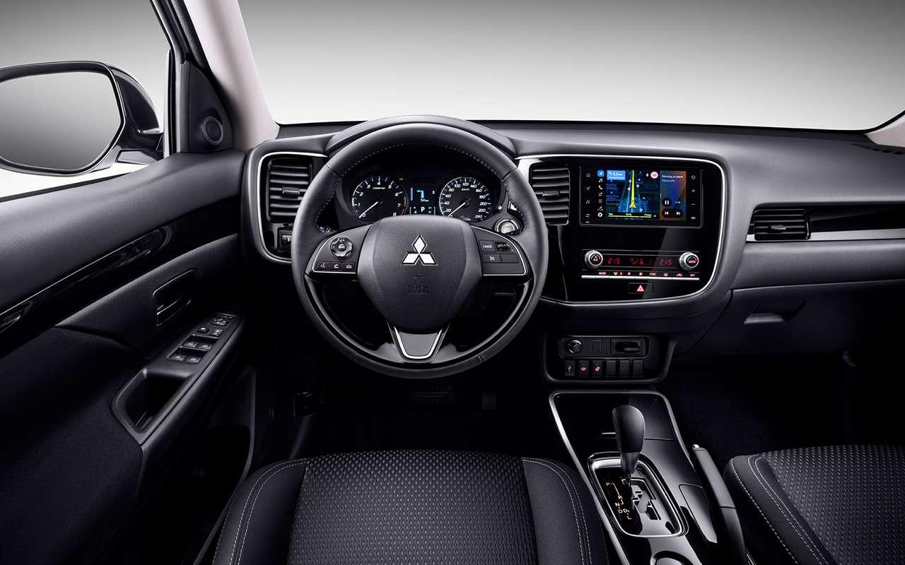 Mitsubishi Outlander иPajero Sport «взяли наборт» Яндекс.Авто— фото 1087062