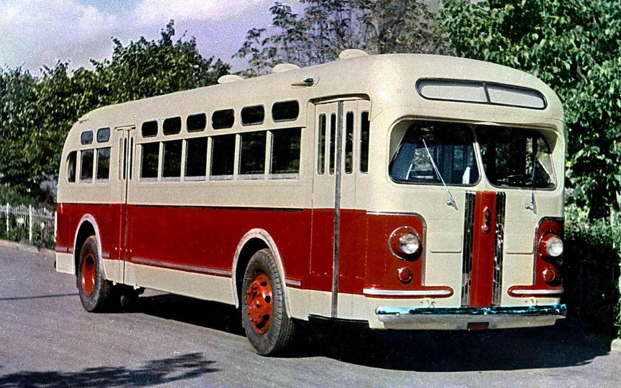 Автобусы изСССР— серийные иэкспериментальные— фото 1035348