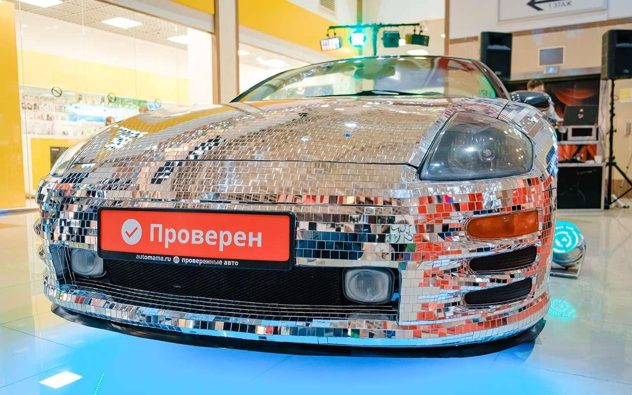 Экстрим-тюнинг по-нашему: кабриолет с65тысячами зеркал— фото 1021932