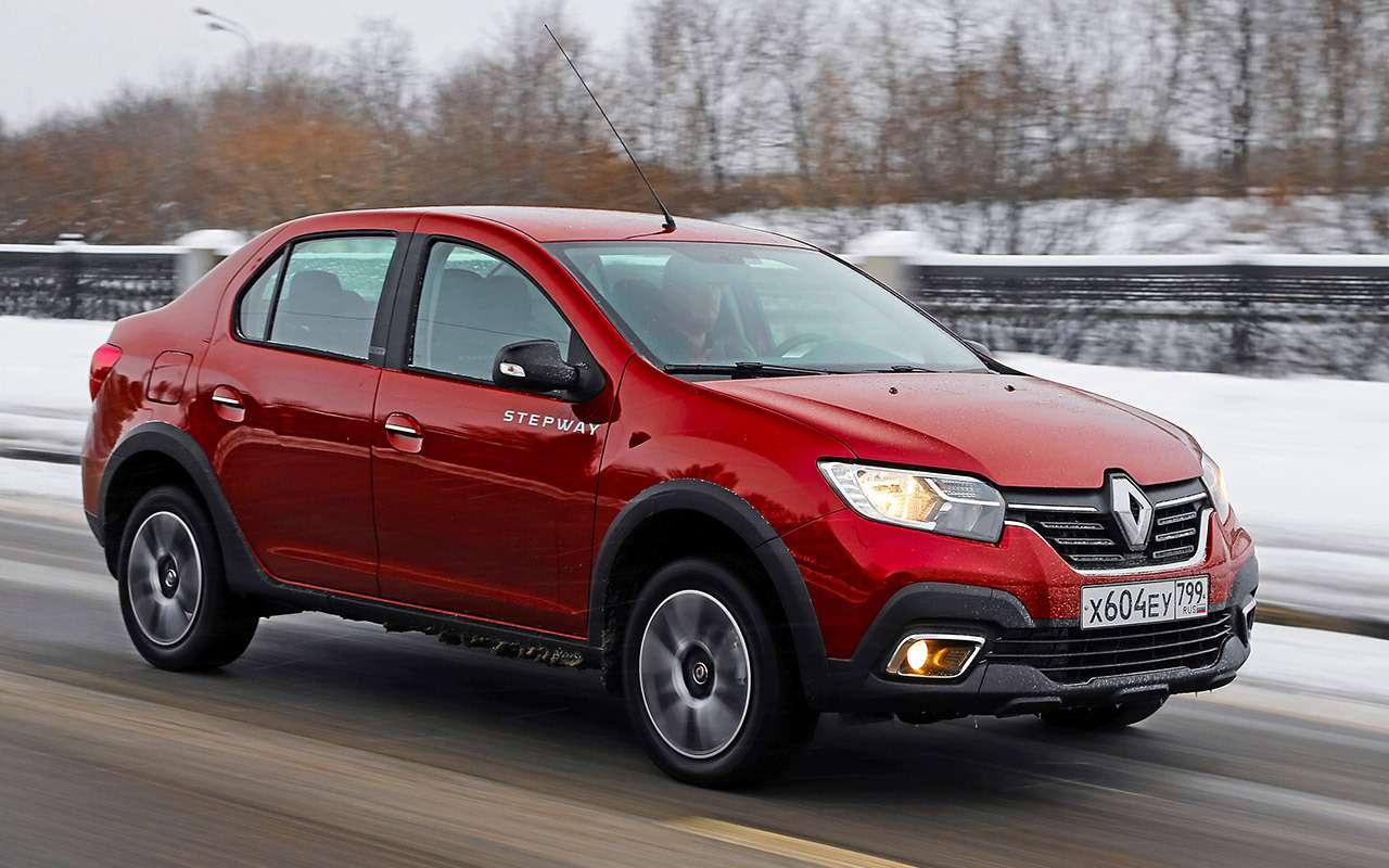 Renault Logan Stepway: все его достоинства ипара минусов— фото 969177