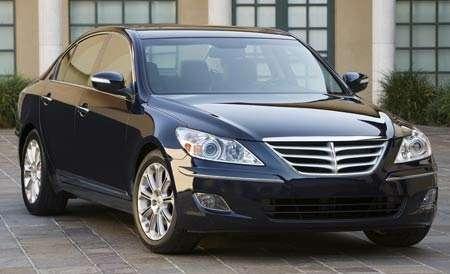 Hyundai отзывает 27500 седанов Genesis