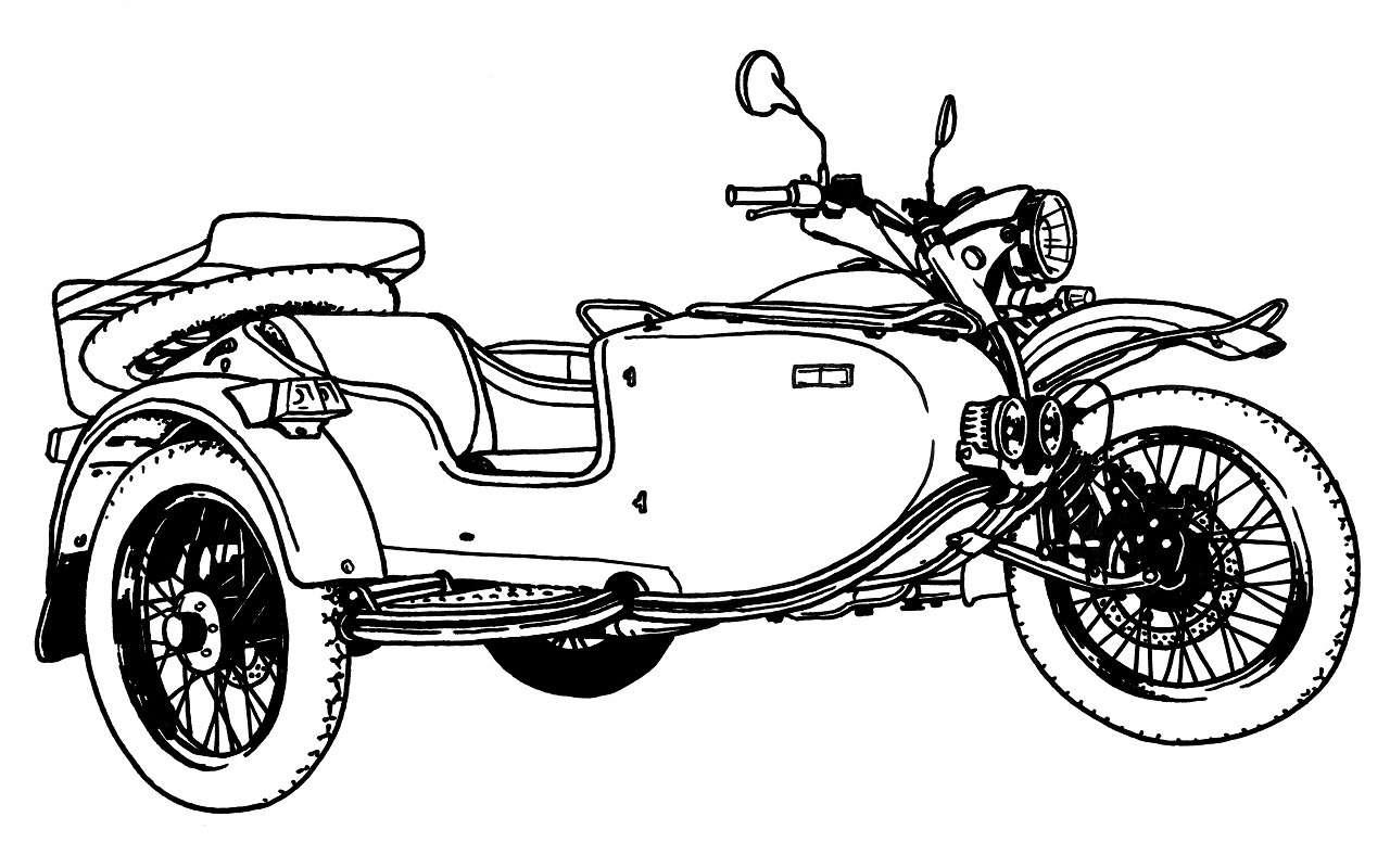Новая версия мотоцикла Урал: еесделают вместе споклонниками— фото 1237302