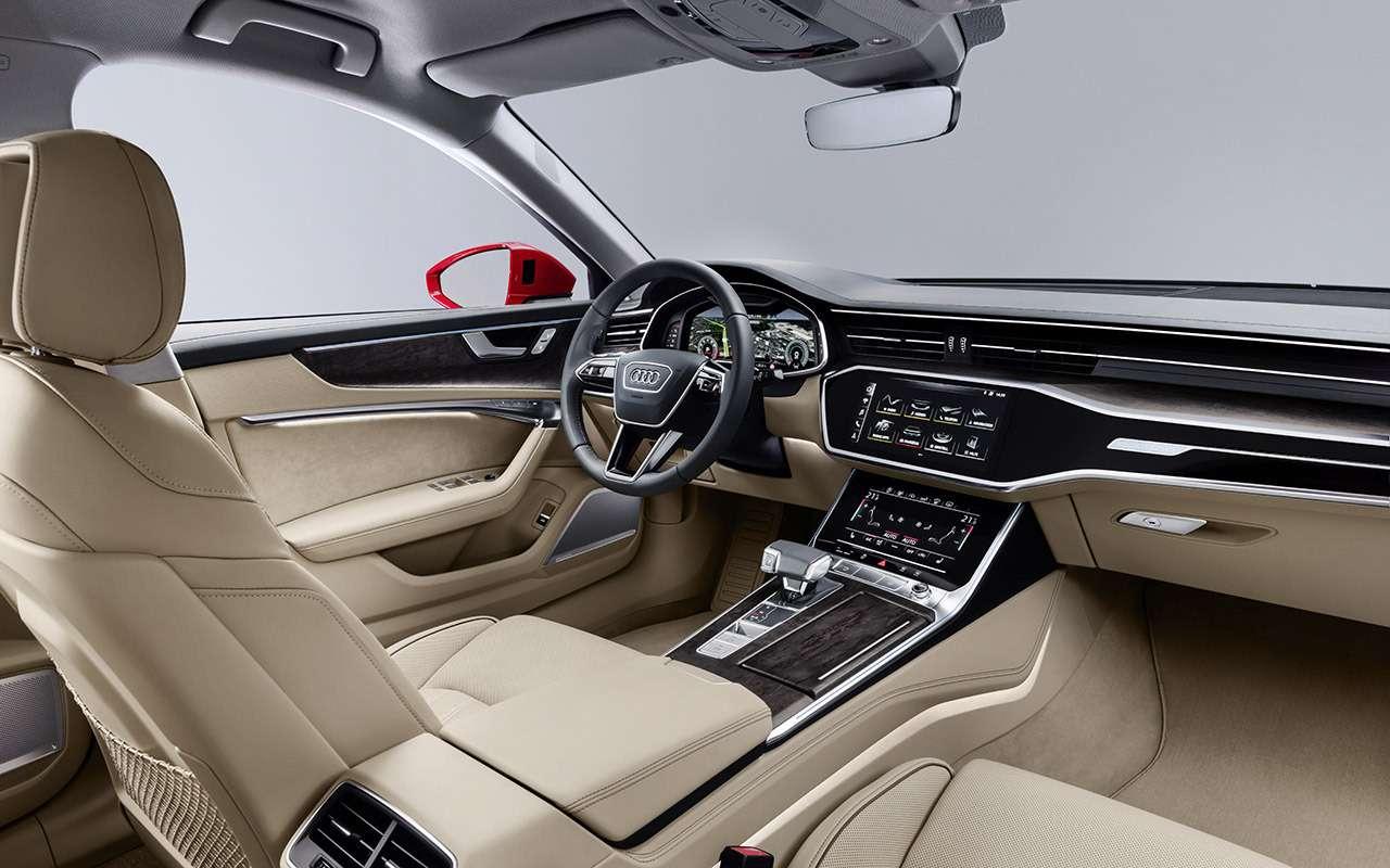 Новый Audi A6: что онвзял устарших?— фото 859132