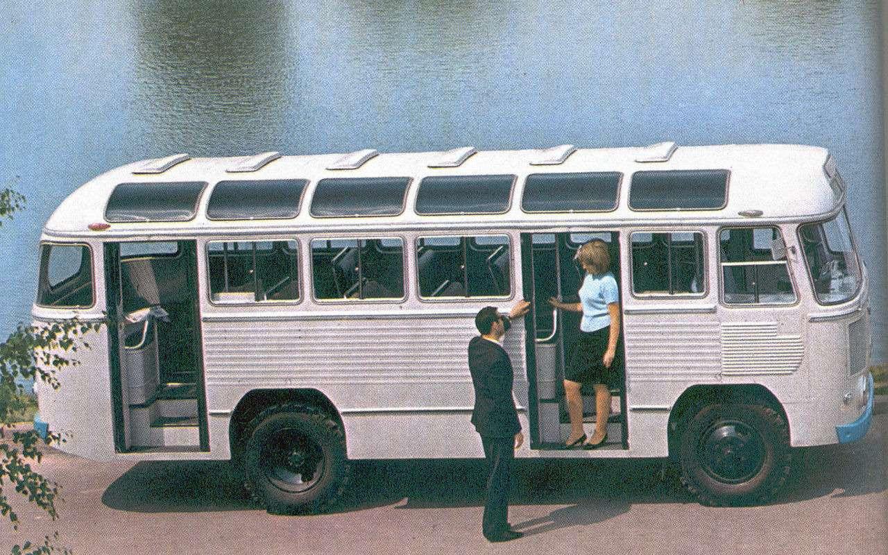 5 забытых советских автобусов, откоторых тепло надуше— фото 1271478