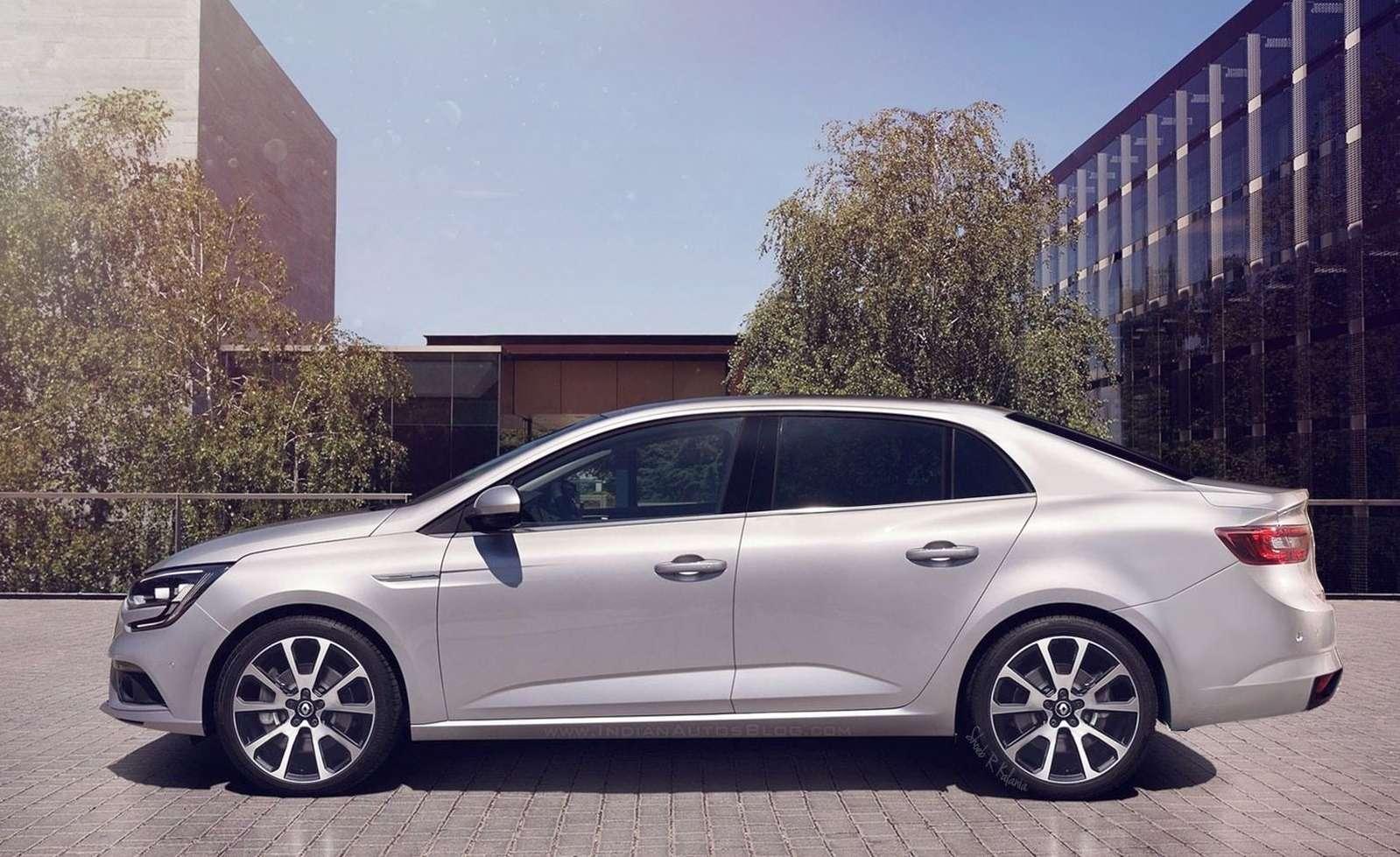 Седан Renault Megane раздувается отсобственной значимости— фото 602606
