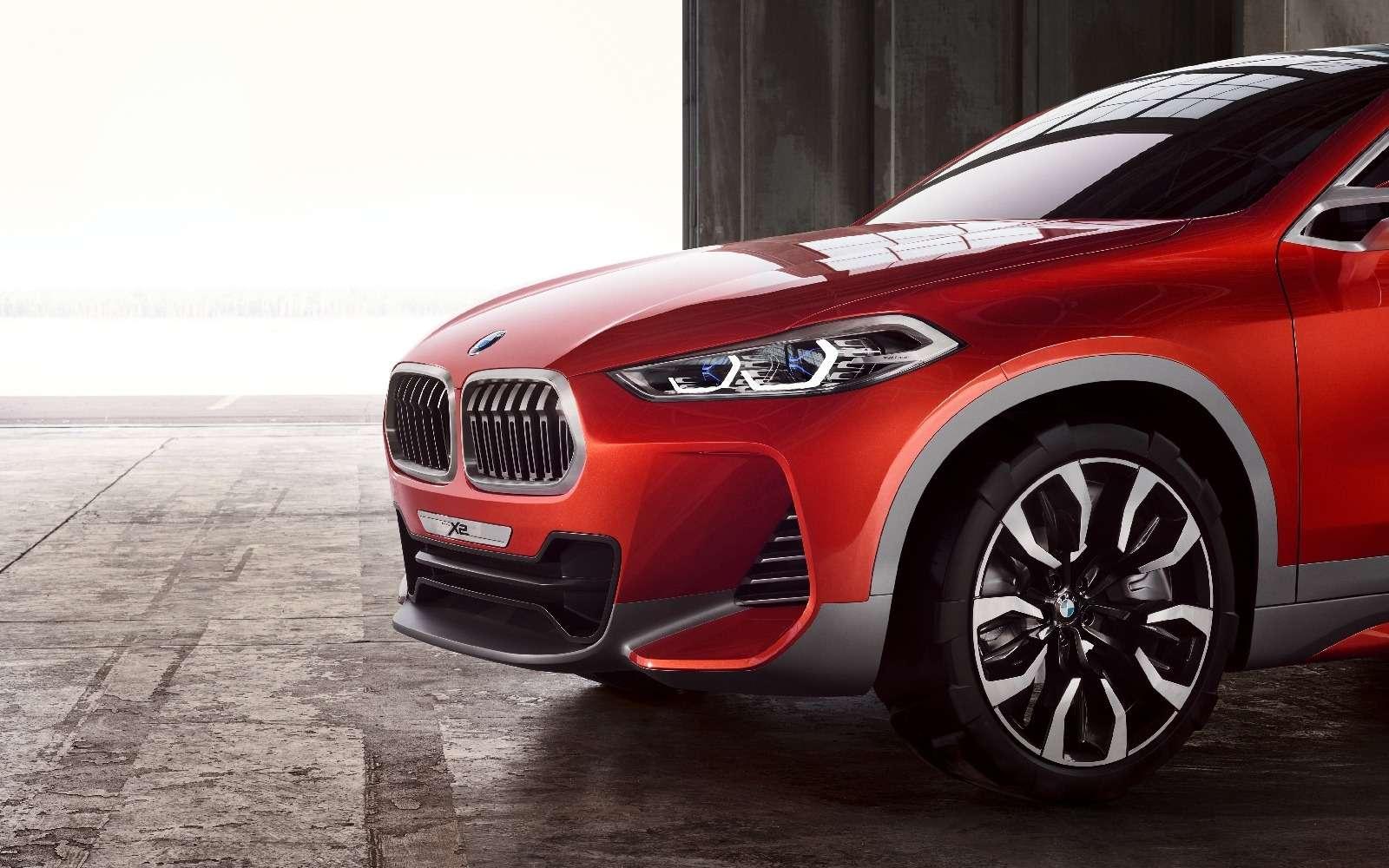 «Два икса»: BMW представила очередной нишевый паркетник— фото 642110