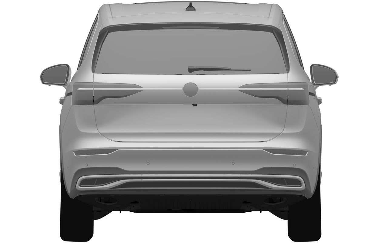 VWзапатентовал вРоссии новую модель— Viloran— фото 1165769