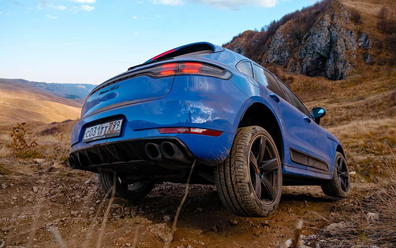 Какнеугробить Porsche набездорожье— инструкция (ну, мало ли!)— фото 1210794